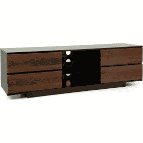 Additional Images For MDA Designs AVitus 1580 Gloss Black Walnut TV Stand
