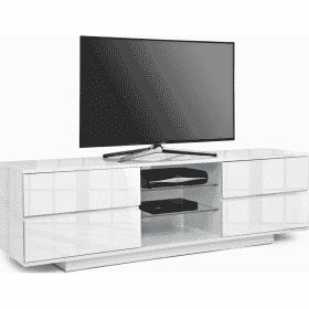 MDA Designs AVITUS 1580 Gloss White TV Stand