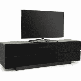 MDA Designs AVITUS ULTRA 1580 Gloss Black TV Stand