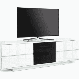 MDA Designs AVITUS ULTRA 1580 Gloss White TV Stand