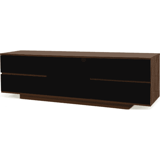 Additional Images For MDA Designs AVitus Ultra 1580 Walnut Gloss Black Drawer TV Stand