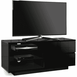 MDA Designs GALLUS 1100 Black Gloss TV Stand