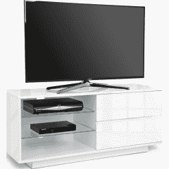 MDA Designs GALLUS 1100 Gloss White TV Stand