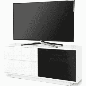 MDA Designs GALLUS ULTRA 1100 Gloss White TV Stand