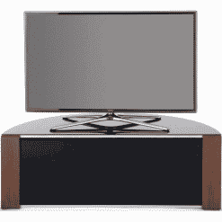 MDA Designs SIRIUS 1200 Gloss Black / Oak / Walnut Corner TV Cabinet
