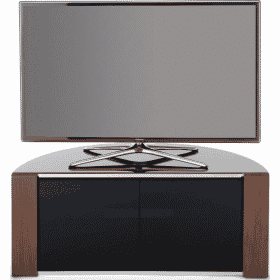 MDA Designs SIRIUS 850 Gloss Black / Oak / Walnut Corner TV Cabinet
