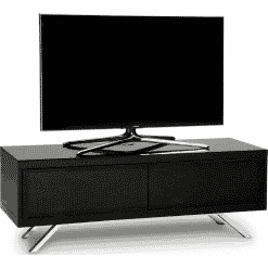 MDA Designs TUCANA 1200 HYBRID Gloss Black TV Stand