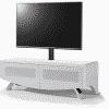 Main Image For MDA Designs Wave 1200 Hybrid Cantilever Satin White TV Stand