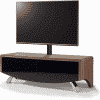 Main Image For MDA Designs Wave 1200 Hybrid Cantilever Walnut TV Stand