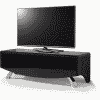 Main Image For MDA Designs Wave 1200 Hybrid Satin Black TV Stand